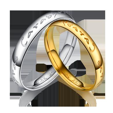 【守护神】18K金指环
