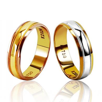 【钟爱】18K金戒指