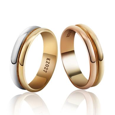 【誓言】18K金戒指