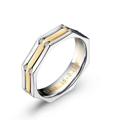 【轮回】18K金戒指