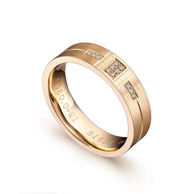 【守护】18K金戒指