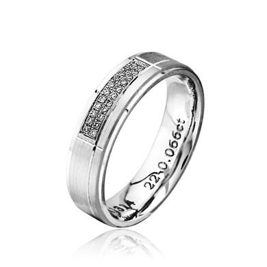 【星辰】18K金钻石戒指
