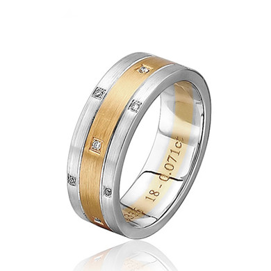 【繁星】18K金钻石戒指