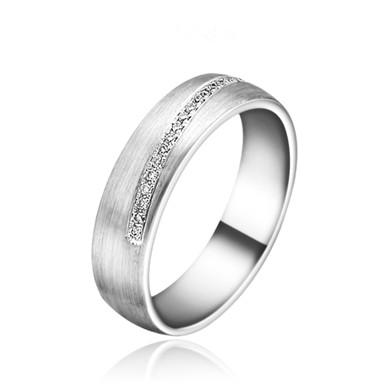 【倾心】18K金钻石戒指