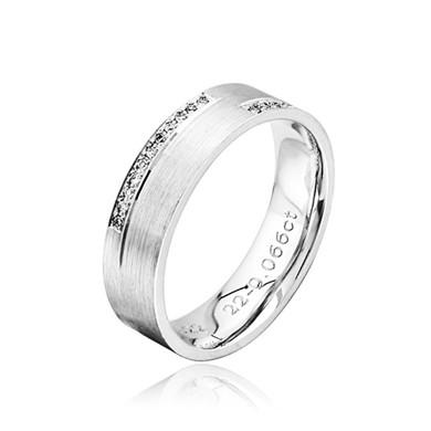 【心怡】18K金钻石戒指