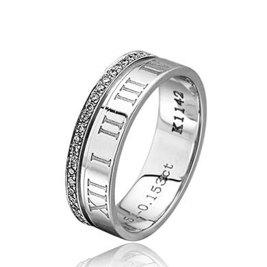 【指环王-轮回】18K金钻石戒指