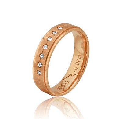 【锦绣】18K金钻石戒指
