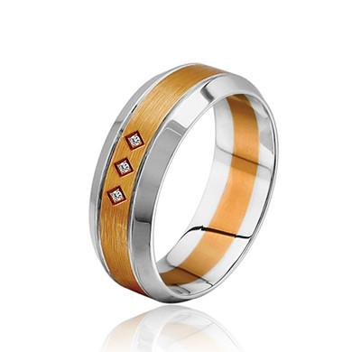 【睿智】18K金钻石戒指