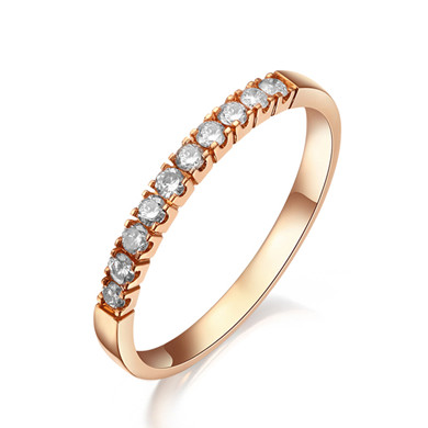 【花冠】18K金戒指