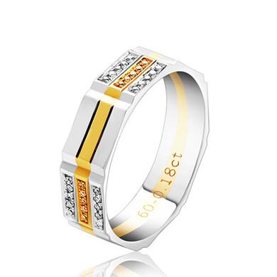 【帝星】18K金钻石戒指