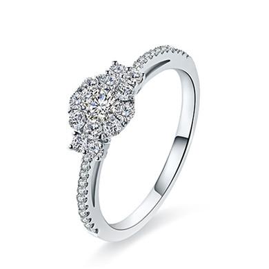 【芳华】18K金戒指