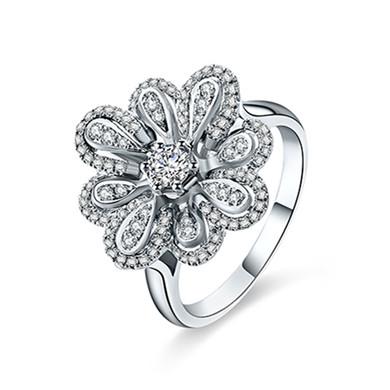【花形奢华】18K金戒指