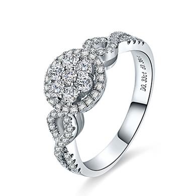 【繁花】18K金戒指