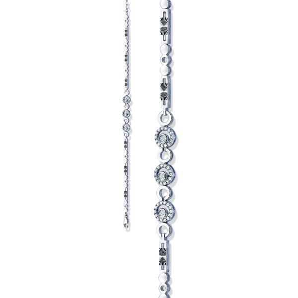 【链爱系列】18K金钻石手链(五)