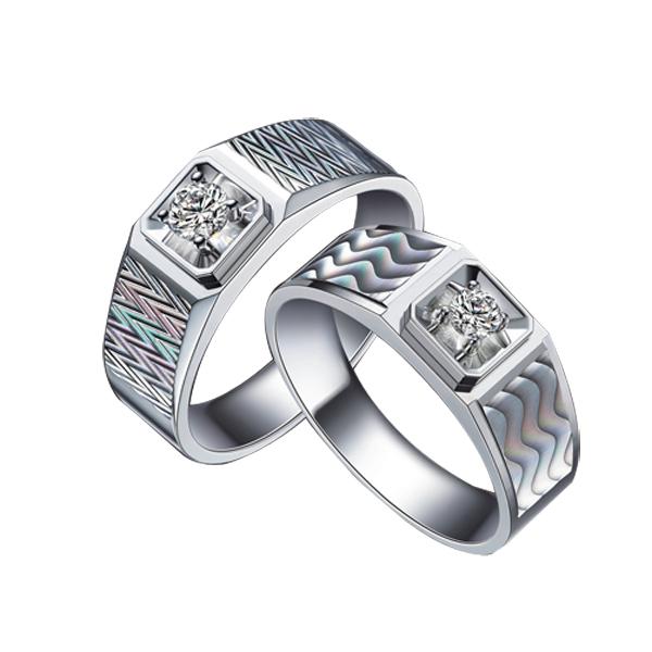 【彩虹系列】18K金戒指