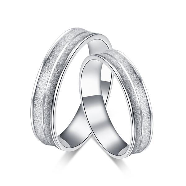 【丝纹】铂金戒指